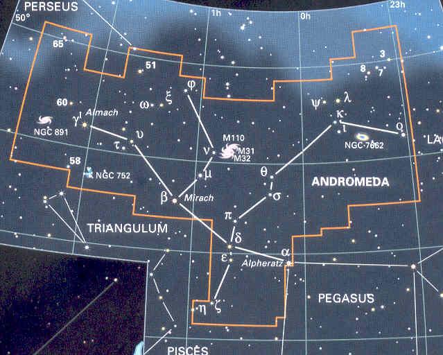 Costellazione di Andromeda
