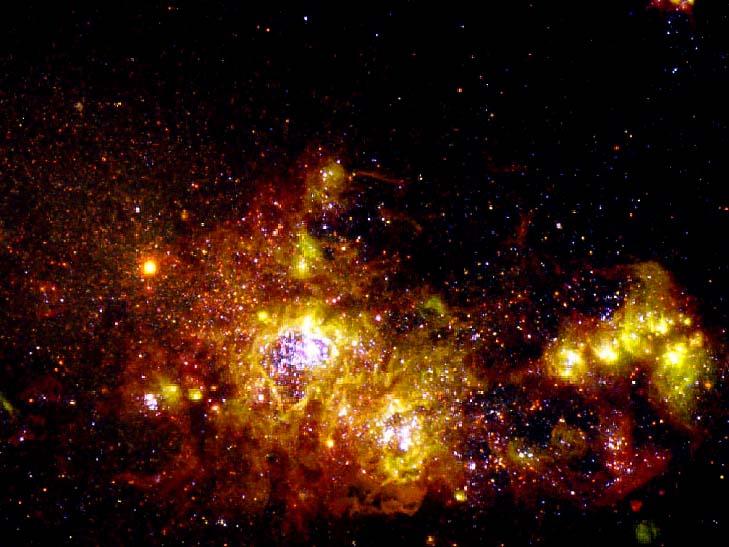 Nebulosa NGC 4214