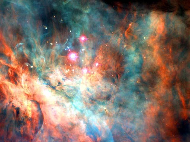 Nebulosa Orione Cluster Trapezio